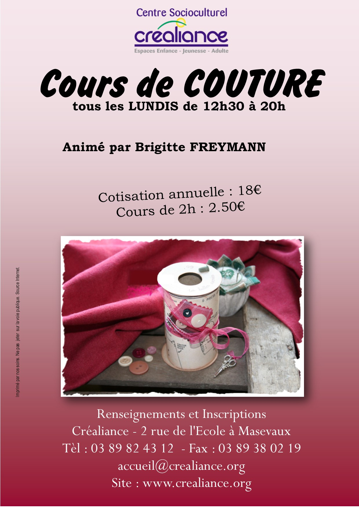 Affiche Couture
