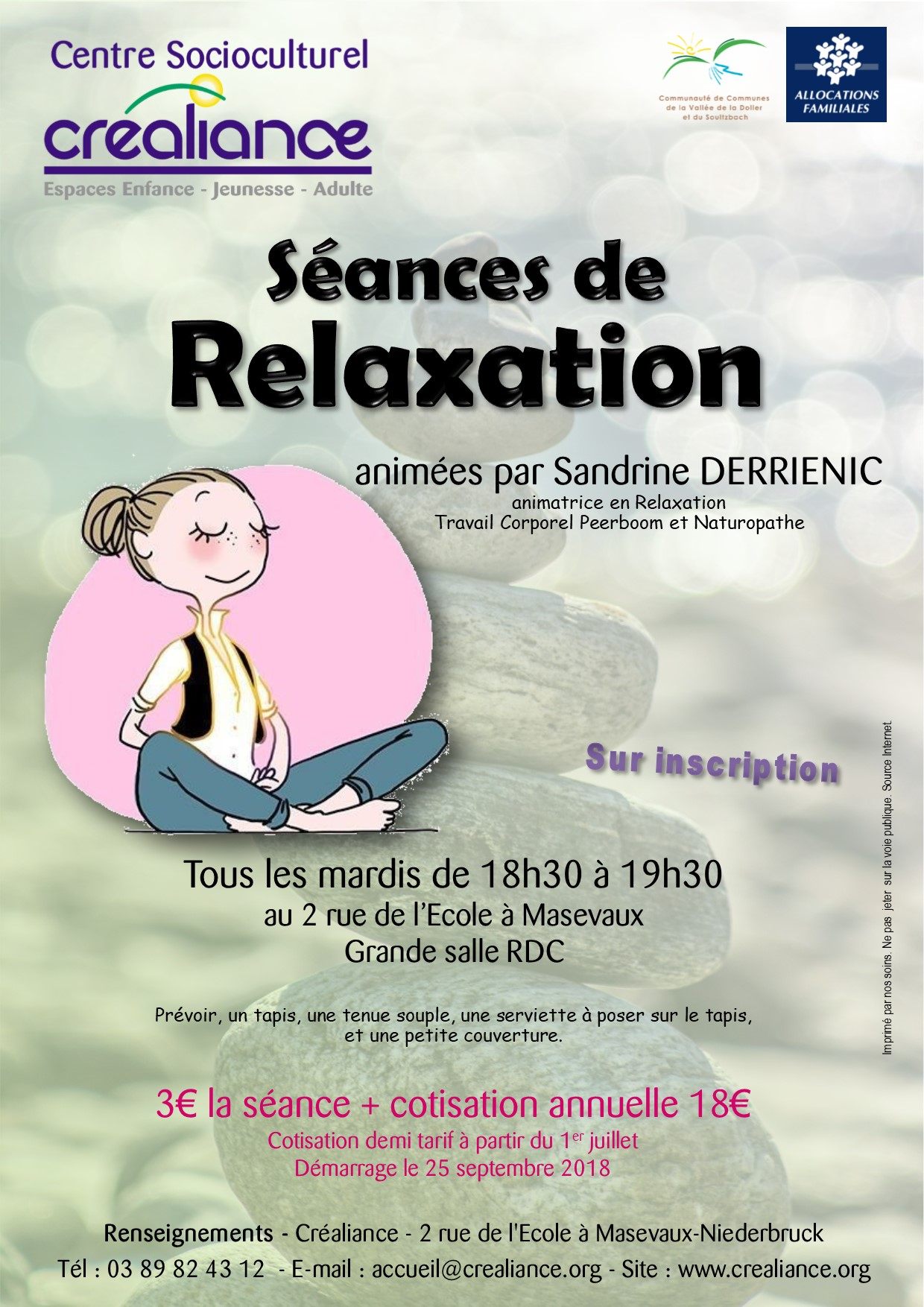 Affiche Relaxation
